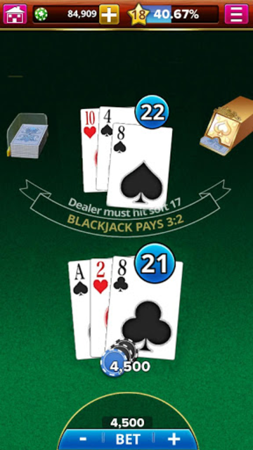 BLACKJACK! screenshot 1