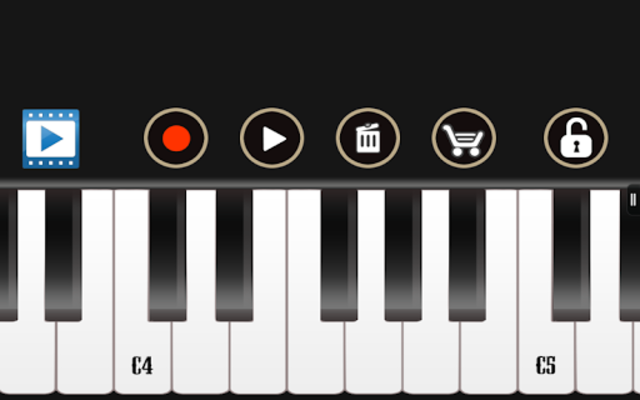 Electric Piano screenshot 2