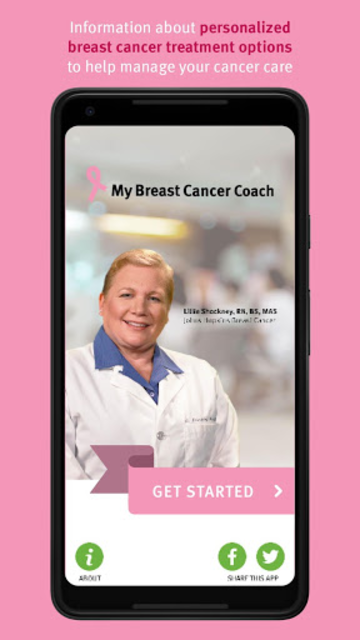 My Breast Cancer Coach screenshot 1