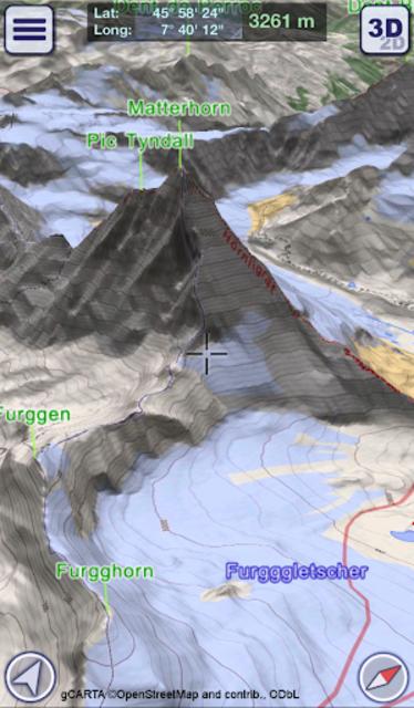 GeoFlyer Europe 3D - Offline Maps GPS Routing screenshot 1