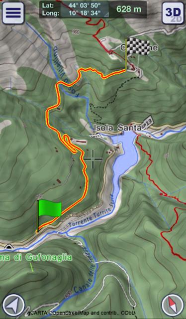 GeoFlyer Europe 3D - Offline Maps GPS Routing screenshot 4