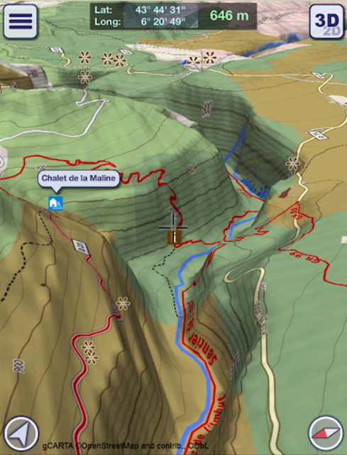 GeoFlyer Europe 3D - Offline Maps GPS Routing screenshot 7