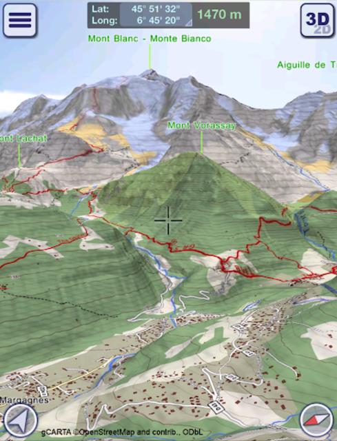 GeoFlyer Europe 3D - Offline Maps GPS Routing screenshot 8