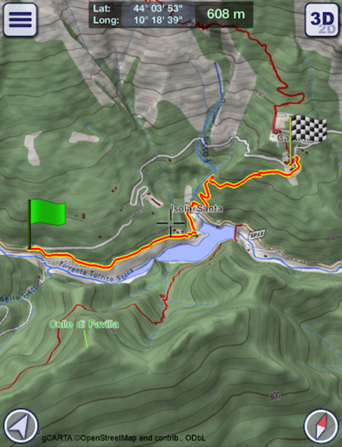 GeoFlyer Europe 3D - Offline Maps GPS Routing screenshot 14