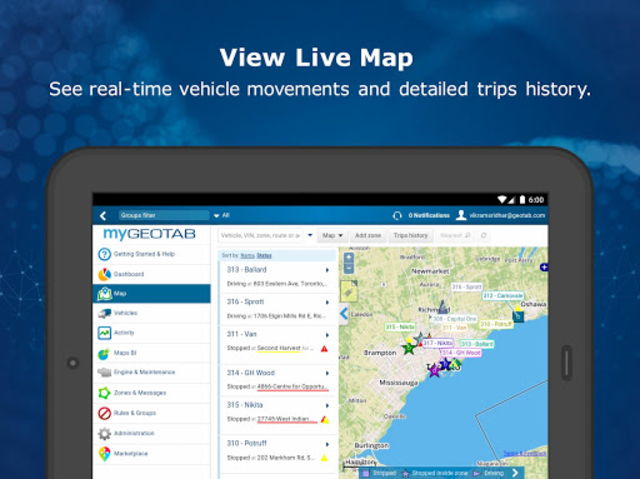 MyGeotab Fleet Management screenshot 9