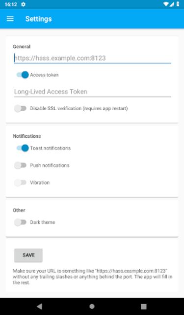 Hass NFC screenshot 4