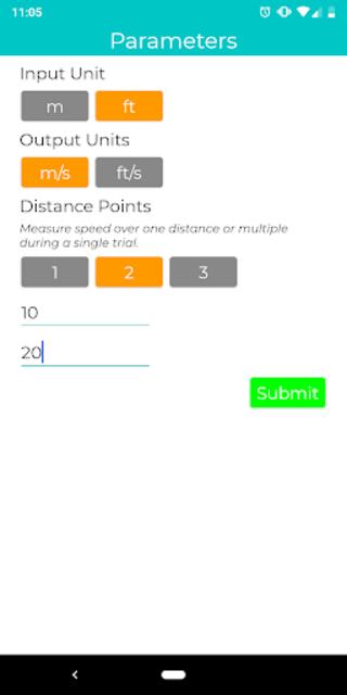 Gait Velocity Plus screenshot 1