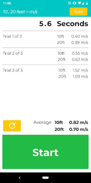Gait Velocity Plus screenshot 2
