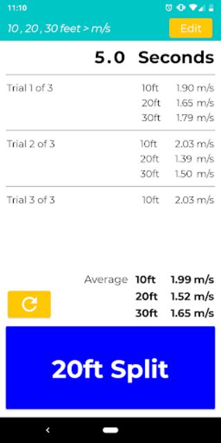 Gait Velocity Plus screenshot 3