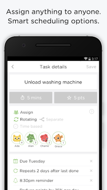OurHome – chores, rewards, groceries and calendar screenshot 6