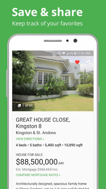 Keez Jamaica Real Estate: Easily find your place screenshot 2