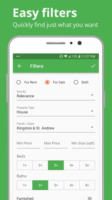 Keez Jamaica Real Estate: Easily find your place screenshot 3