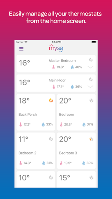 Mysa screenshot 1