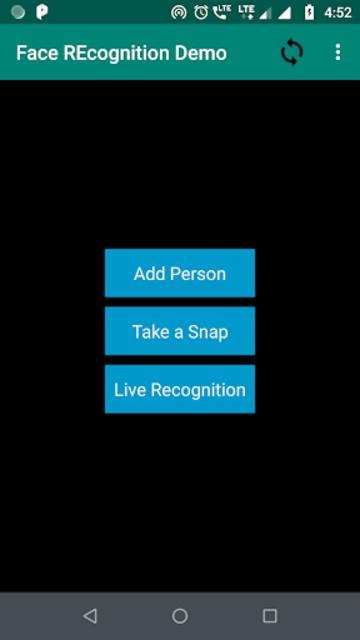 Live Face Recognition screenshot 1