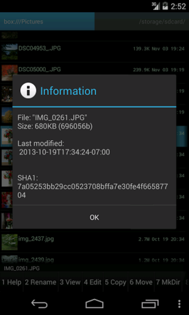 Ghost Commander plugin for BOX screenshot 3