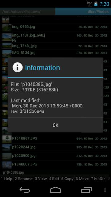 GC Plugin for Dropbox screenshot 2