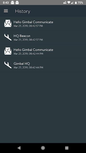 Hello Gimbal screenshot 2
