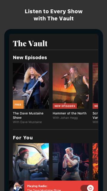 Gimme Radio: Free Metal Music screenshot 3