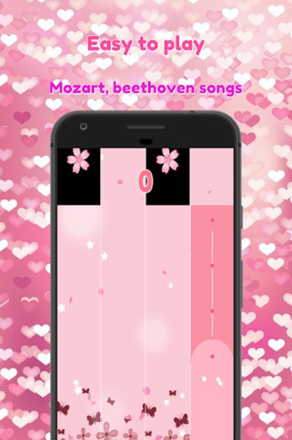 BTS Pink Piano Tiles screenshot 3