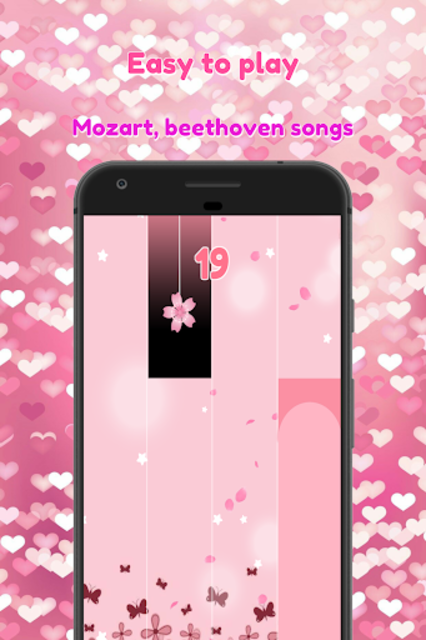 Marshmello Happier Piano Tiles Pink 2019 screenshot 5