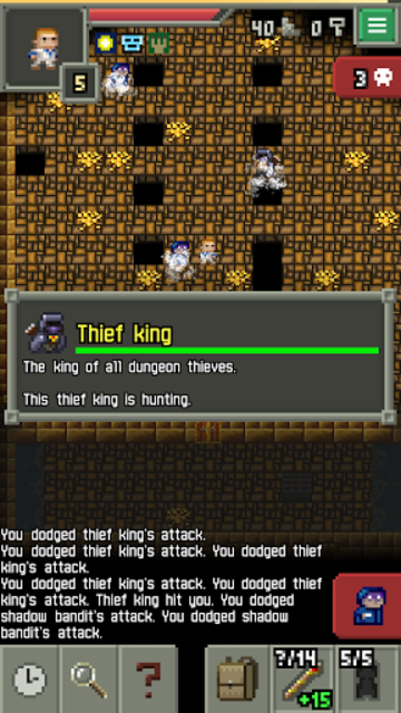 About: Sprouted Pixel Dungeon (Google Play version