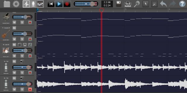 Recording Studio Pro Plus screenshot 1