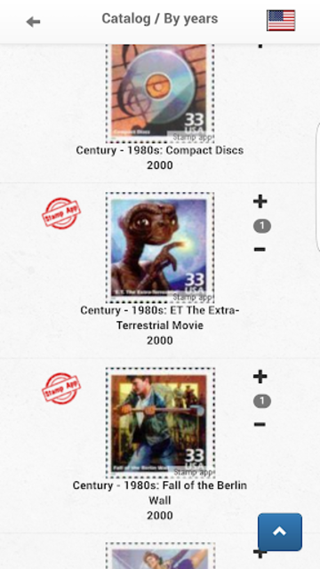 Stamps United States Philately screenshot 4