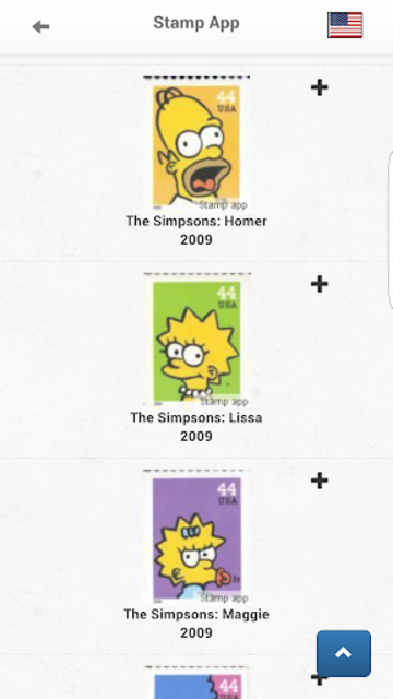 Stamps United States Philately screenshot 5