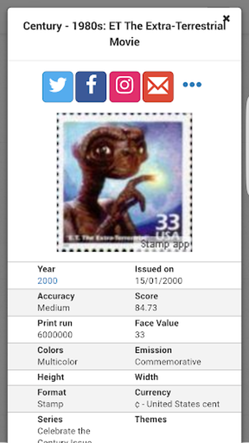Stamps United States Philately screenshot 8