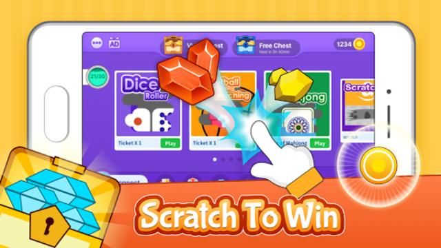 Scratch x Scratch - Win Prizes & Redeem Rewards screenshot 1