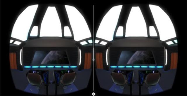Starship Bridge Interior VR screenshot 2