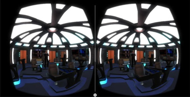 Starship Bridge Interior VR screenshot 3