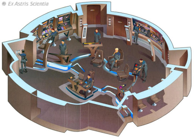 Starship Bridge Interior VR screenshot 5