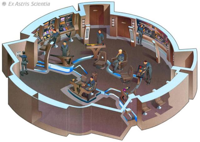 Starship Bridge Interior VR screenshot 9