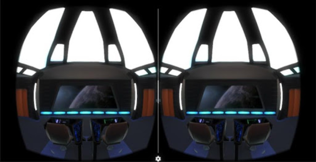 Starship Bridge Interior VR screenshot 10
