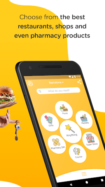 Glovo-Order Anything. Food Delivery and Much More screenshot 2