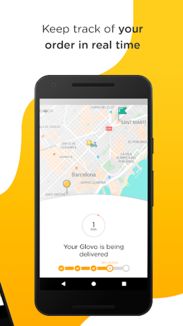 Glovo-Order Anything. Food Delivery and Much More screenshot 3