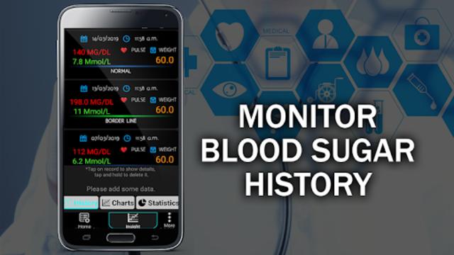 Blood Sugar Tracker : Glucose Test Calculator App screenshot 2