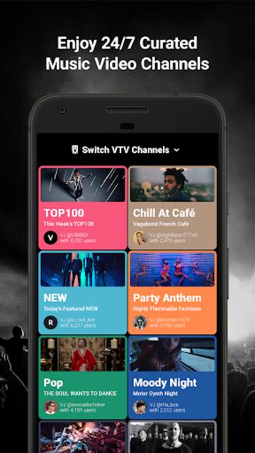 Free Music Player - Trending Music by VIBBIDI screenshot 2