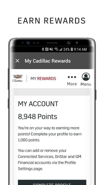 myCadillac screenshot 6