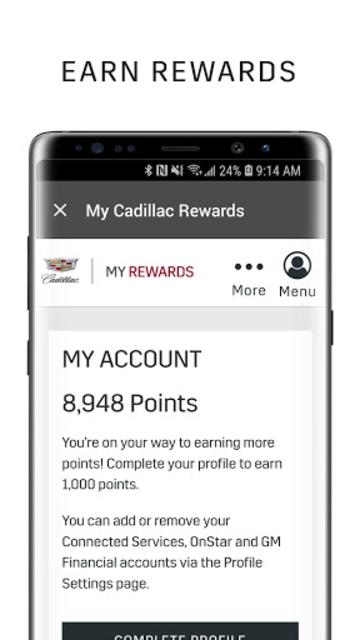 myCadillac screenshot 5