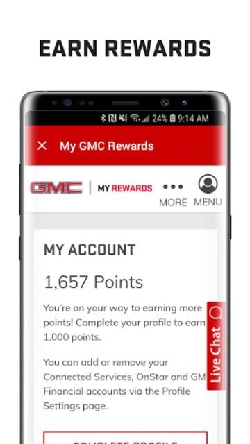 myGMC screenshot 5