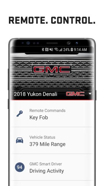 myGMC screenshot 1