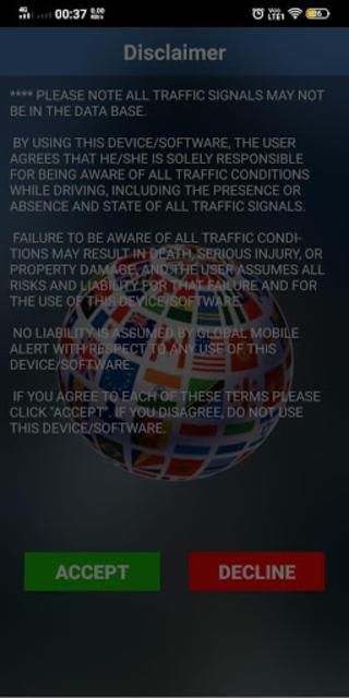 Global Mobile Alert screenshot 2
