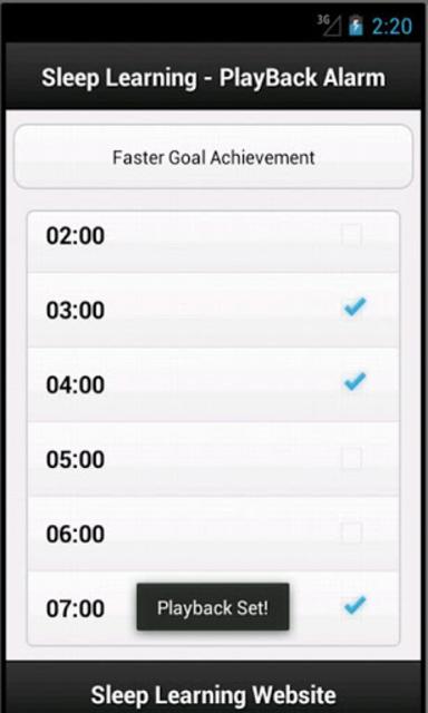 Achieve Goals Sleep Affirmations screenshot 2