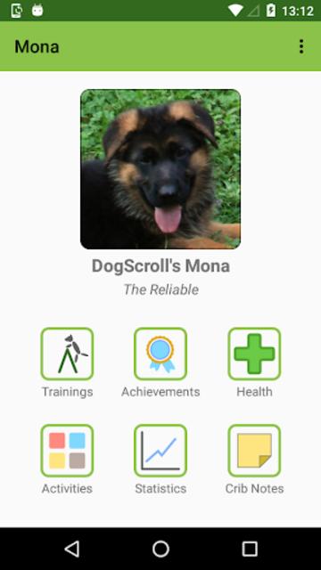 DogScroll - Dog Training Diary screenshot 2