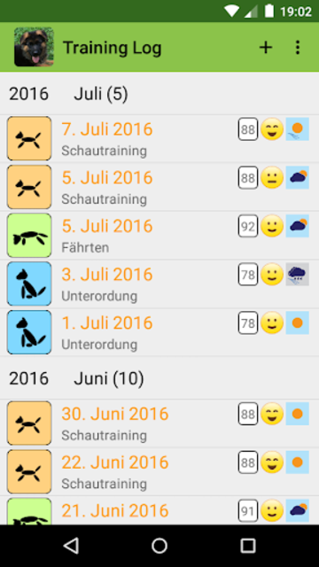 DogScroll - Dog Training Diary screenshot 4