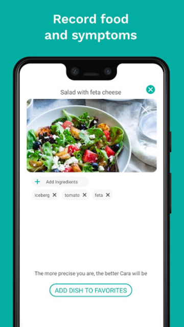 Cara Care: Food, Mood, Poop Tracker for IBS & IBD screenshot 2
