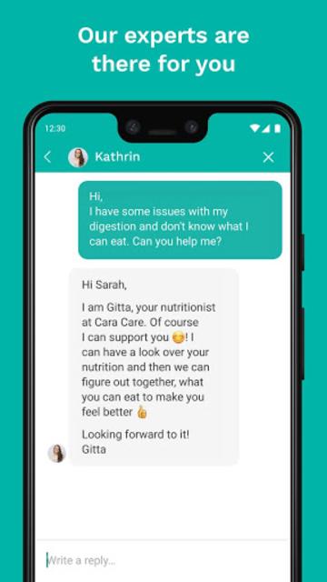 Cara Care: Food, Mood, Poop Tracker for IBS & IBD screenshot 5