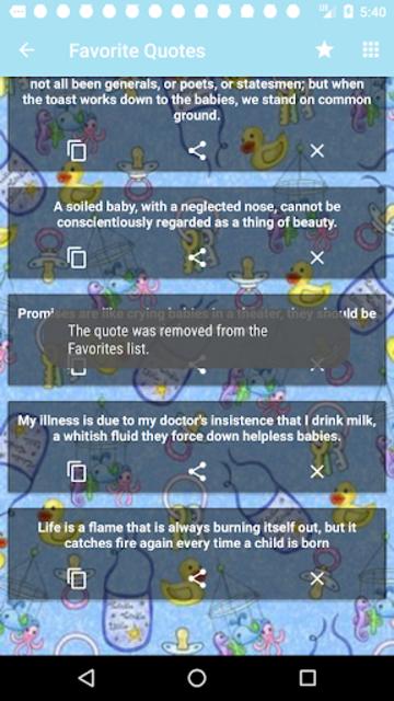Babies Quotes screenshot 1